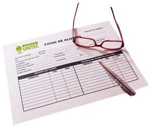 formulario de matriculación