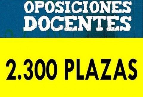 2.300 plazas para 2017