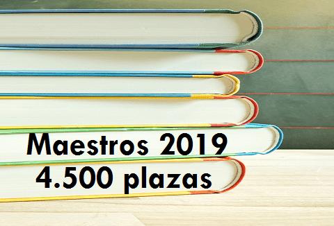 Maestros 2019 - 4.500 plazas